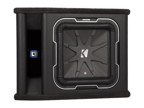 Kicker 41VL7122 12-Inch (30cm) Subwoofer in Vented Enclosure, 2-Ohm, 900W