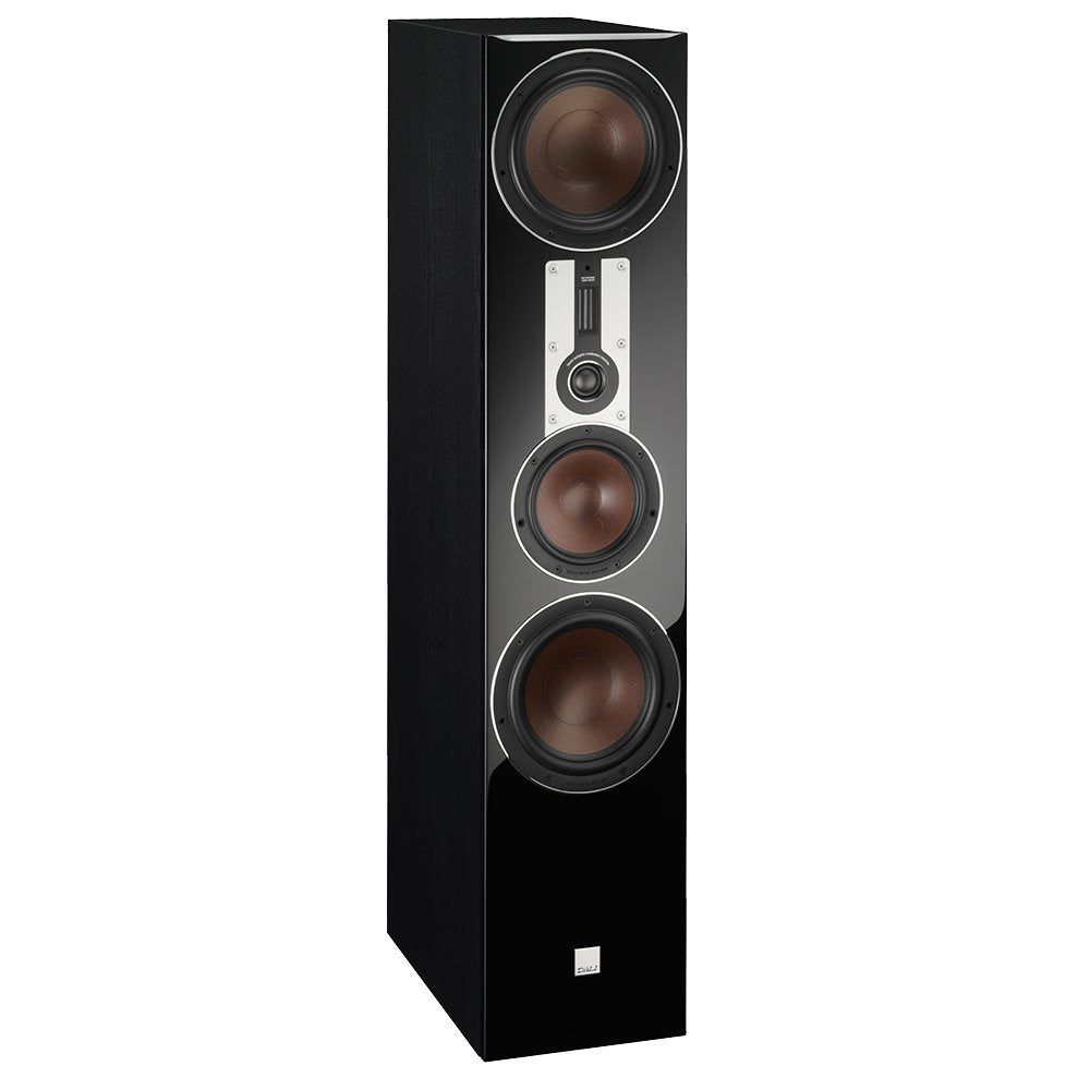 Dali Opticon 8 3.5-Way Large Floorstanding Speakers - Each (Black Ash)