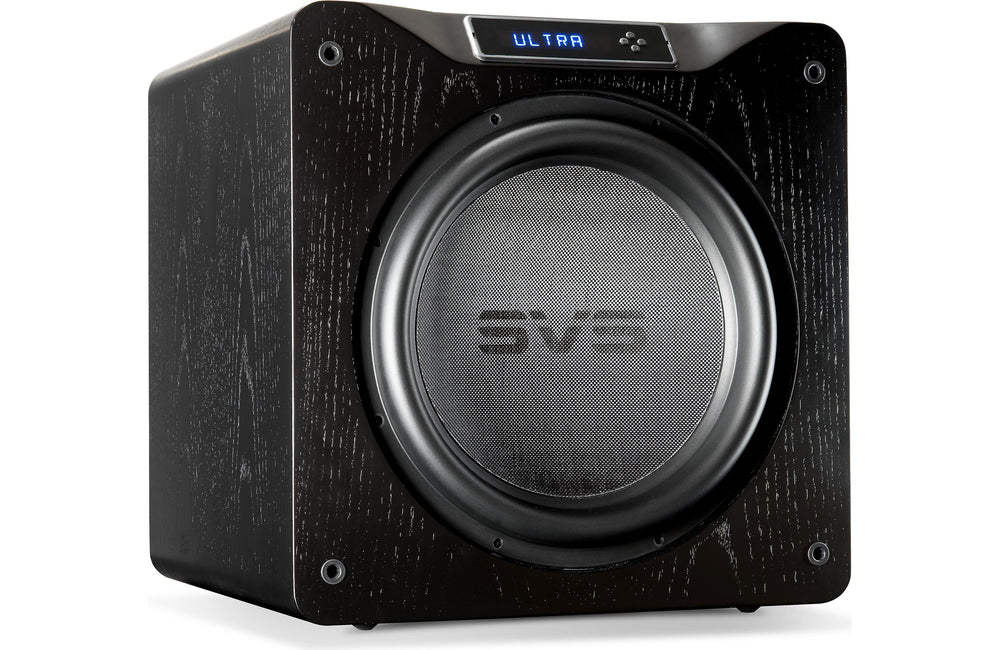 SVS SB16 Ultra Subwoofer - Black Oak