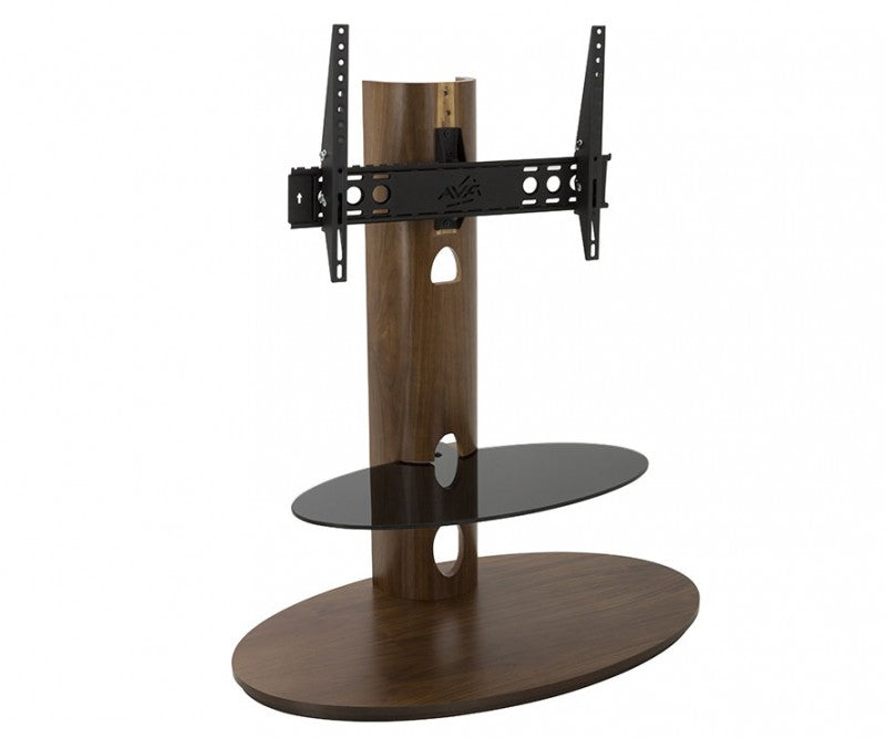 AVF  AFFINITY PLUS TV STAND WALNUT/BLACK GLASS