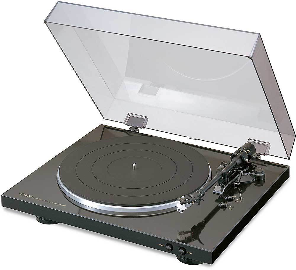 Denon DP-300F Fully Automatic Analog Turntable