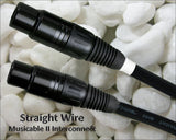 Straight Wire MUSICable II XLR Audio Interconnect Cable 1.25 Meter Pair