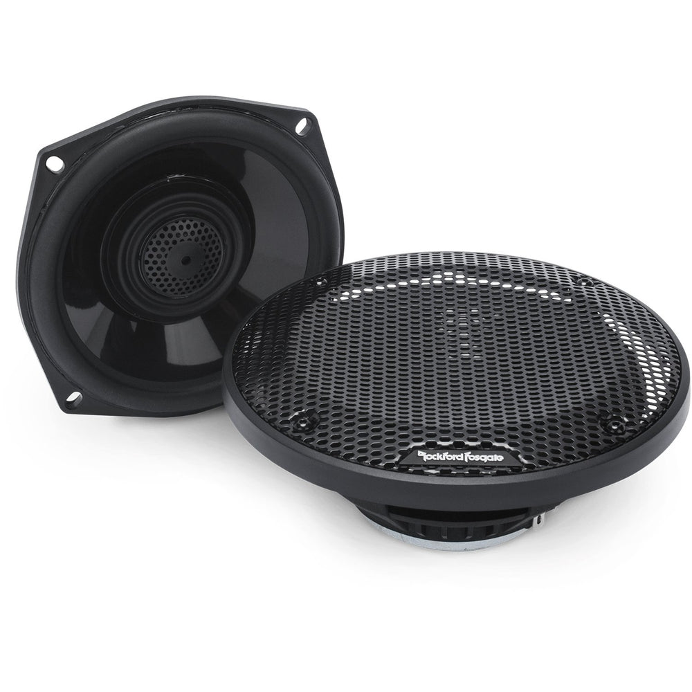 "Rockford Fosgate TMS5 Power Harley-DavidsonÃ'® 5.25"" Full Range Tour-Pak Speakers (1998-2013)"