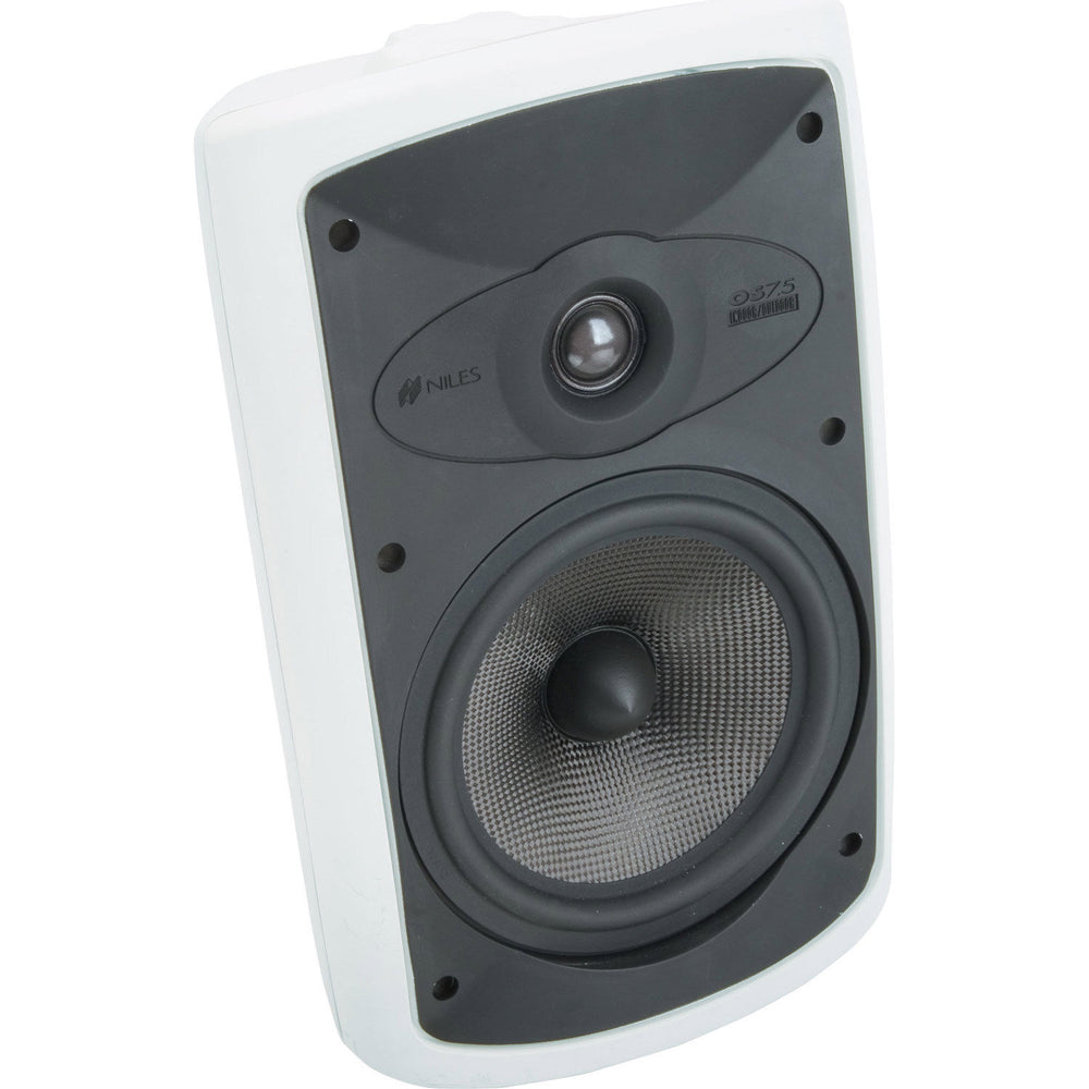 Niles OS7.5 White (Pr) 7 Inch 2-Way High Performance Indoor Outdoor Speakers