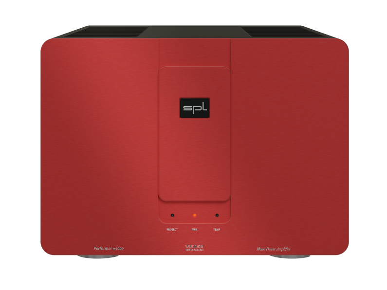 Sound Performance Lab Performer M1000 Mono Power Amplifier (Red)