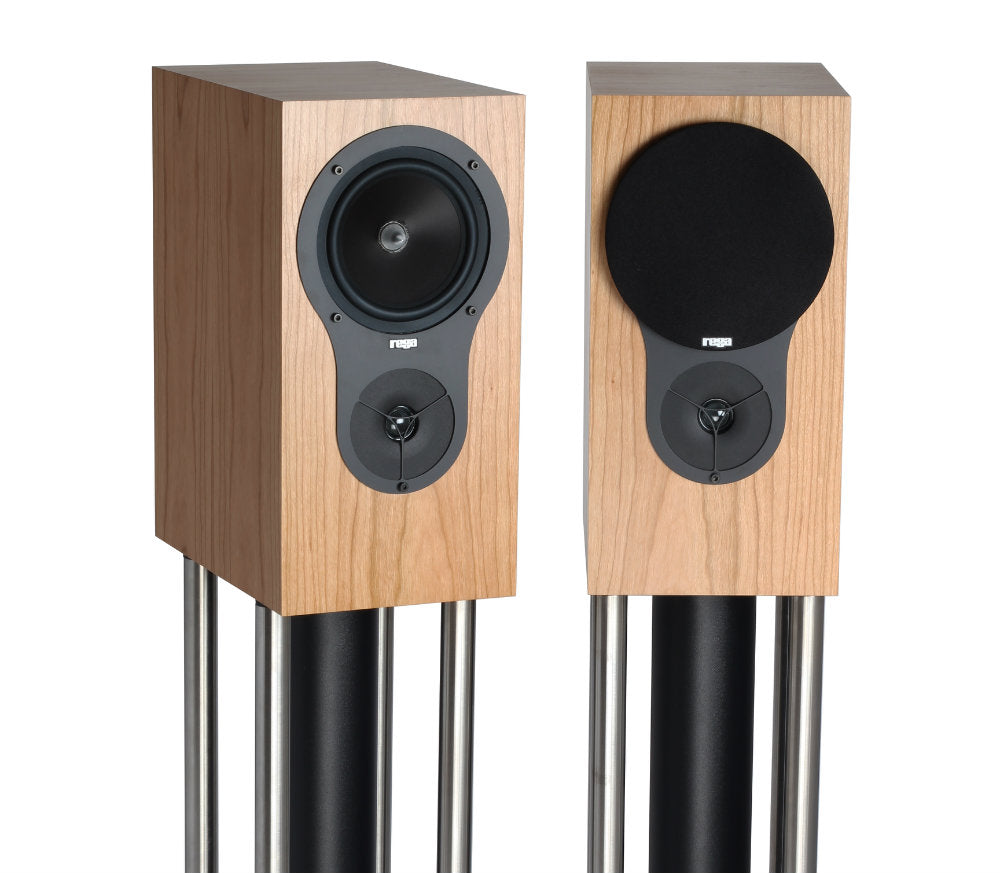 REGA RX1 WALNUT BOOKSHELF SPEAKER PAIR