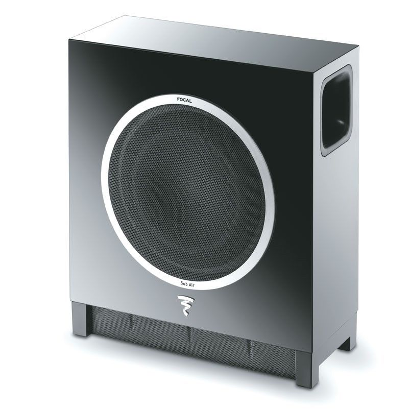 "Focal - Sub Air - Wireless Ultra Flat 8"" Subwoofer - High Gloss Black"