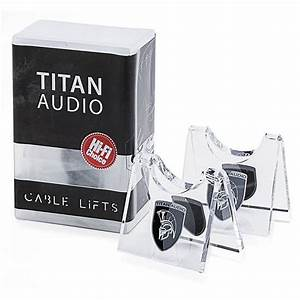 Titan Audio Cable Lifts (Pack Of 4)