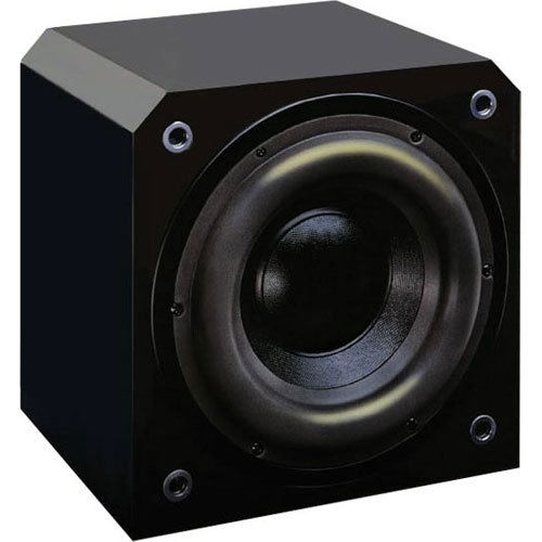 "Sunfire HRS8  Single 8"" 1000w Powered Subwoofer - Black Lacquer"