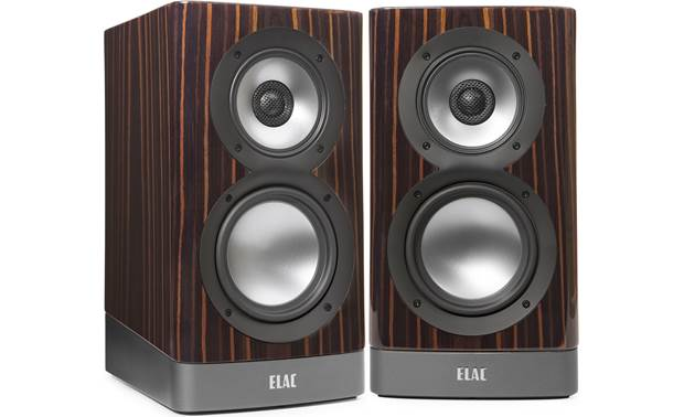 ELAC Navis ARB-51GE - Gloss Ebony Emara Bookshelf Speaker Pair