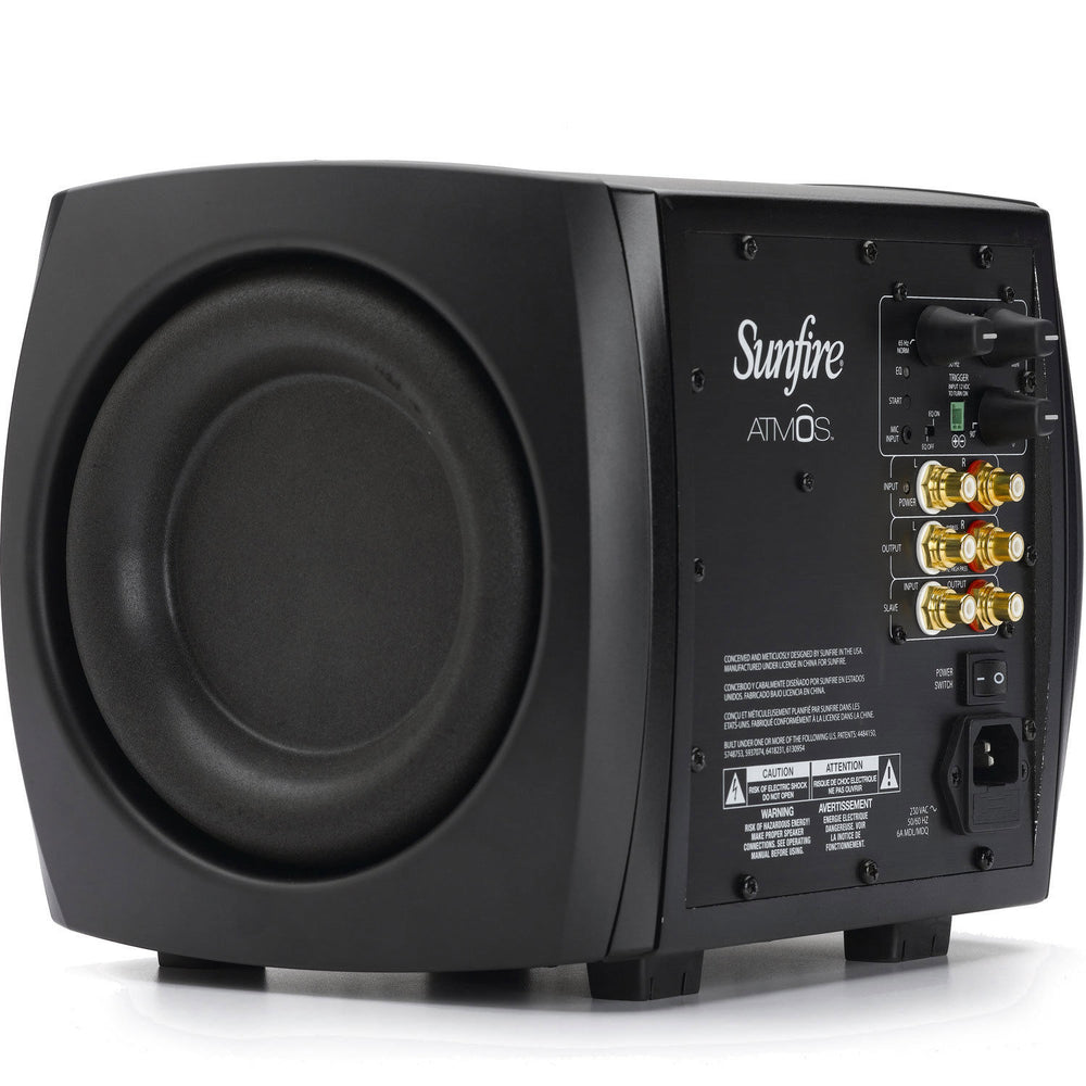 "Sunfire XTATM265230 Atmos - 230V Dual 6.5"" Tracking Down Converter Powered Sub"