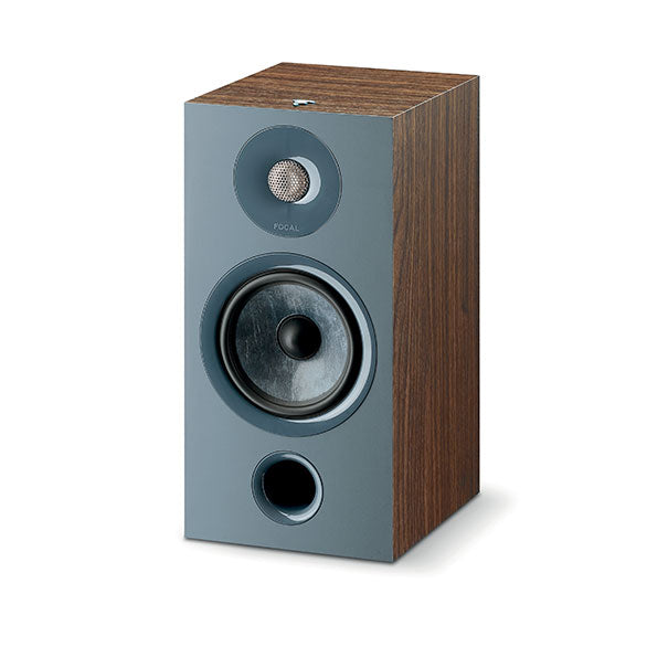 FOCAL CHORA 806 BOOKSHELF SPEAKER PAIR - DARK WOOD FINISH