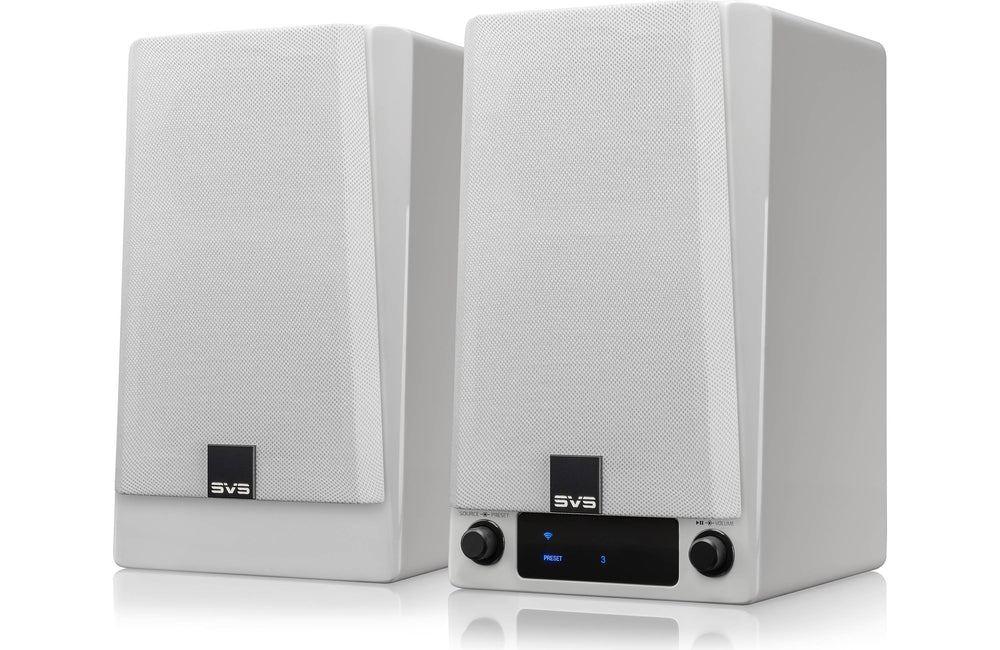 SVS Prime Wireless Speaker System - Piano Gloss White Finish