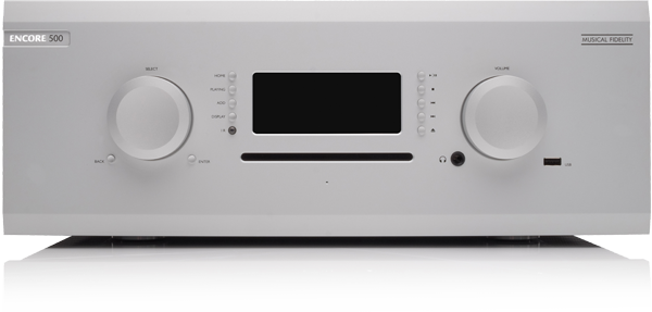Musical Fidelity M8 Encore 500W Streaming Music System (Silver)