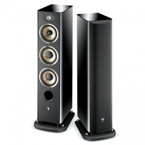 Focal Aria 926 3-Way Bass Reflex Floorstanding Speaker - Pair (Piano Black)