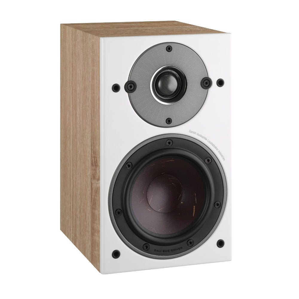 Dali Oberon 1 BookShelf Speaker - Light Oak (Pair)
