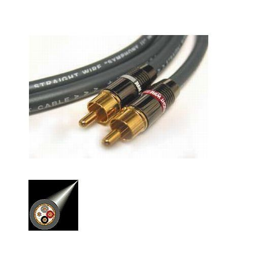 Straight Wire Symphony II RCA Audio Cables 1.0 Meter Pair