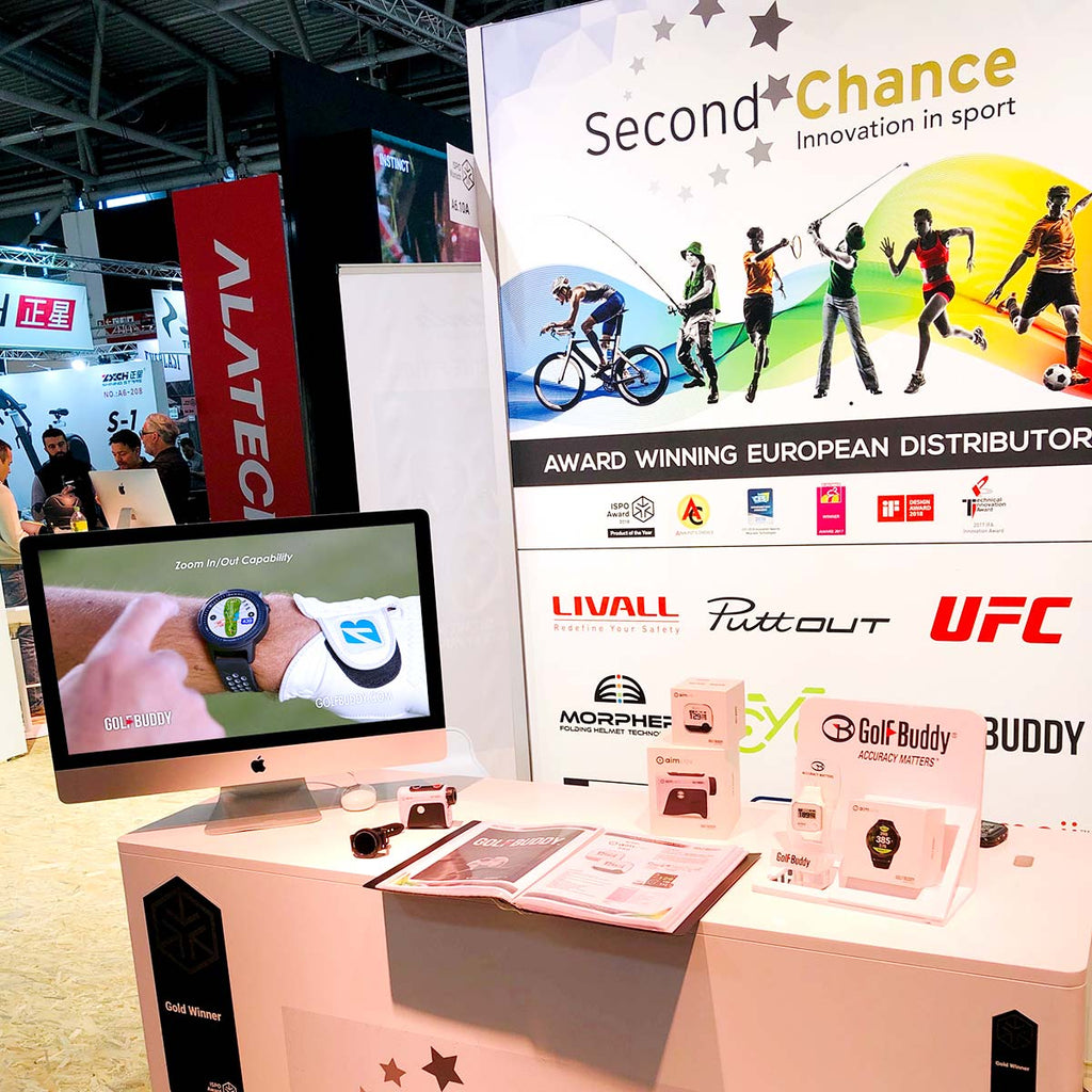 GOLFBUDDY at ISPO Munich