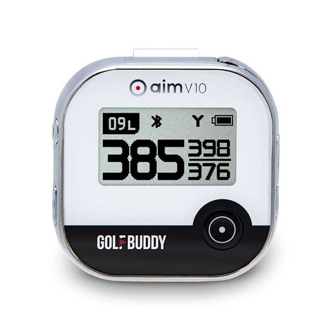 GOLFBUDDY aim V10 gps rangefinder with voice black