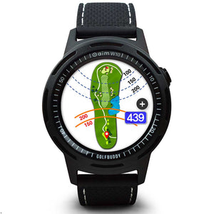 GOLFBUDDY aim W10 GPS Golf Watch