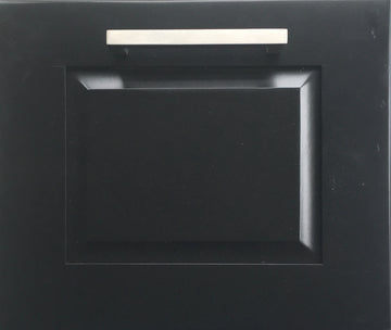 Raised Door Front- Black