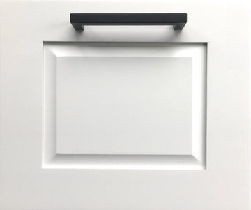 Raised Door Front- Pure White