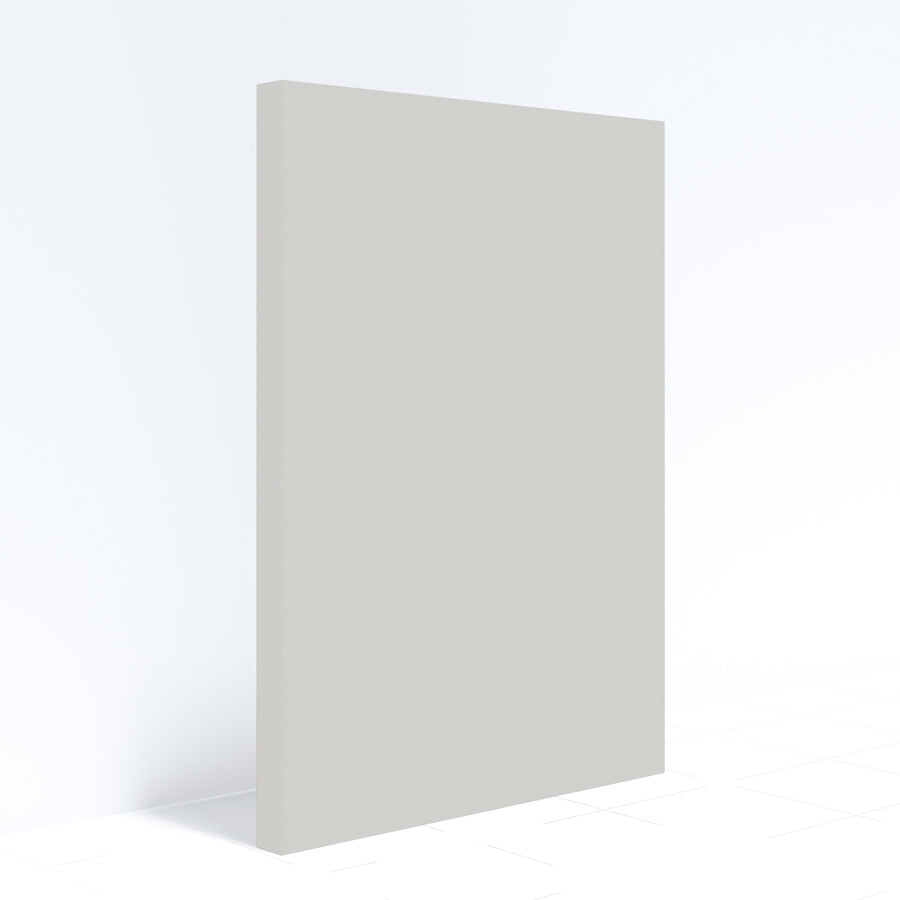 Modern Slab Door Fronts-Agreeable Gray