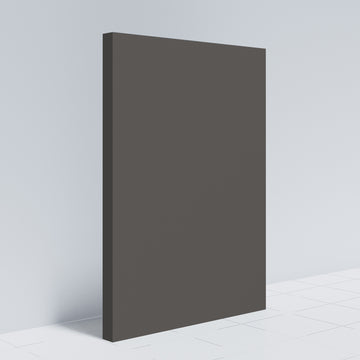 Modern Slab Door Fronts-Gauntlet Gray