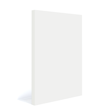 Modern Slab Door Fronts-Pure White
