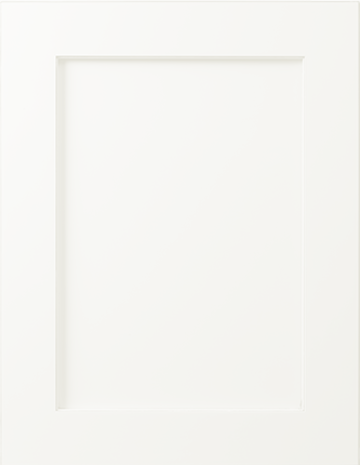 Shaker Door Fronts-Pure White