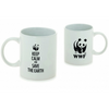 "Mug ""Keep calm and save the earth"""
