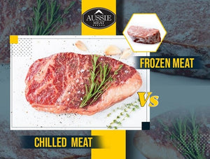 Chilled meat vs frozen meat | Lotus grill Hong Kong