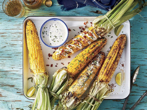 Classic Grilled Corn On The Cob | Lotus Grill | Charcoal HK