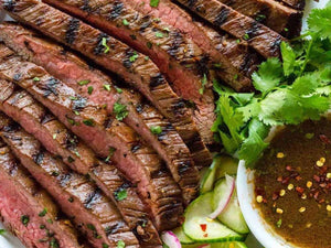 Asian Grilled Flank Steak | Lotus Grill