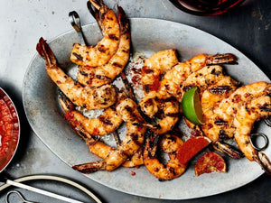 Grilled Garlic and Black Pepper Shrimp | Lotus Grill