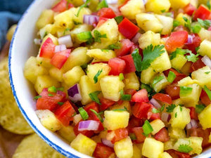Pineapple Salsa | Lotus Grill | Charcoal HK