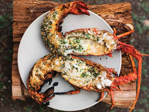 Grilled Lobster With Garlic-parsley Butter | Lotus Grill Hong Kong
