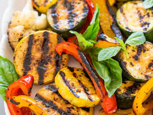 Grilled Vegetables with Basil Vinaigrette | Lotus Grill Hong Kong