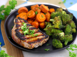 Ranch Grilled Pork Chops | Lotus Grill