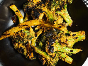 Grilled Mustard Broccoli | Lotus Grill