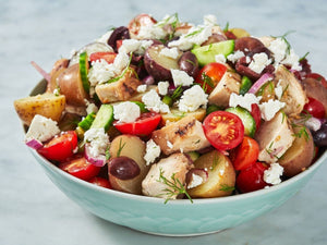 Grilled Greek Potato Salad | Lotus Grill