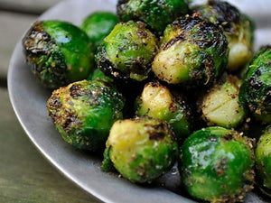 Grilled Brussels Sprouts | Charcoal HK | Lotus Grill