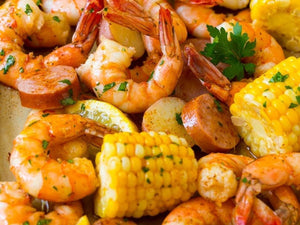 Party Shrimp Boil | Charcoal HK | Lotus Grill