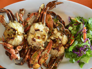 Grilled Dungeness Crab | Lotus Grill | Maze Grill