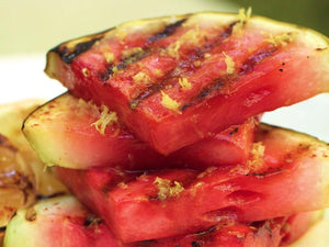 Hot-Sweet Grilled Watermelon | Lotus Grill | Charcoal HK
