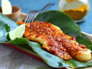 Hawker-style Grilled Fish With Chilli and Turmeric | Lotus Grill | Charcoal HK