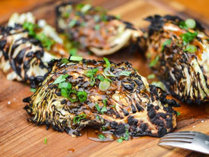 How to prepare Grilled Cabbage with Asian Inspired Glaze