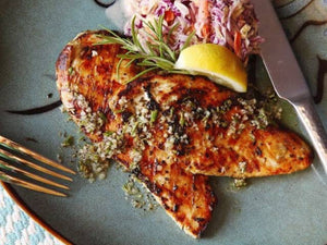 How to prepare Grilled Chicken Cutlets With Rosemary, Garlic, and Lemon