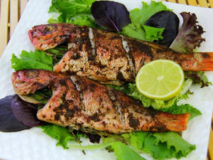 How to prepare Caribbean Grilled Whole Red Snapper
