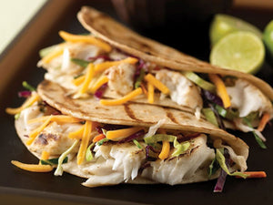 How to prepare Grilled Fish Tacos with Coleslaw ?